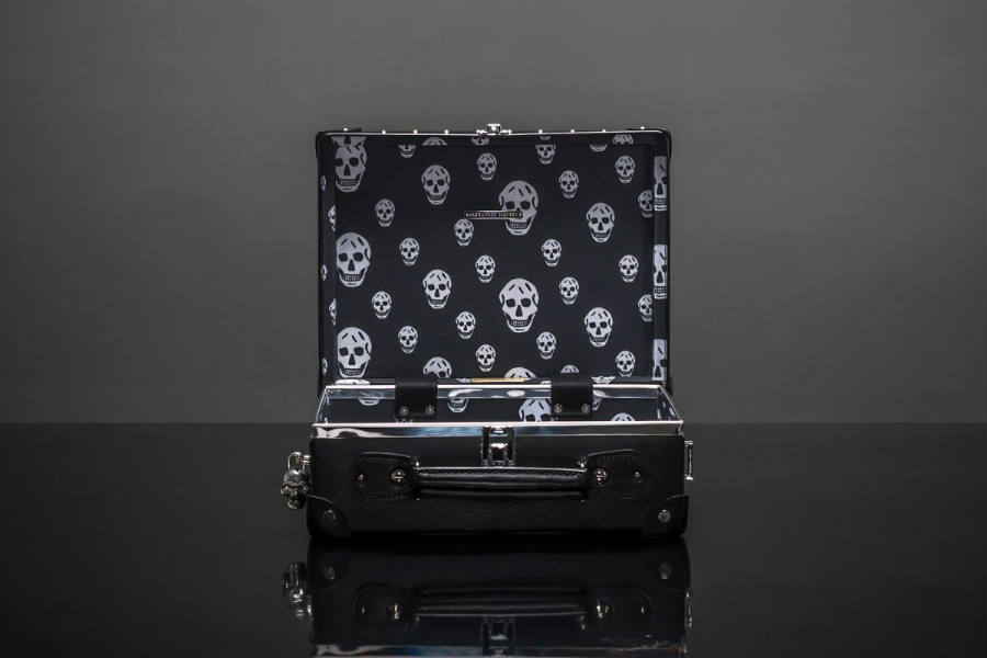 Alexander McQueen drops new luggage collection, satisfies the goth in all of us