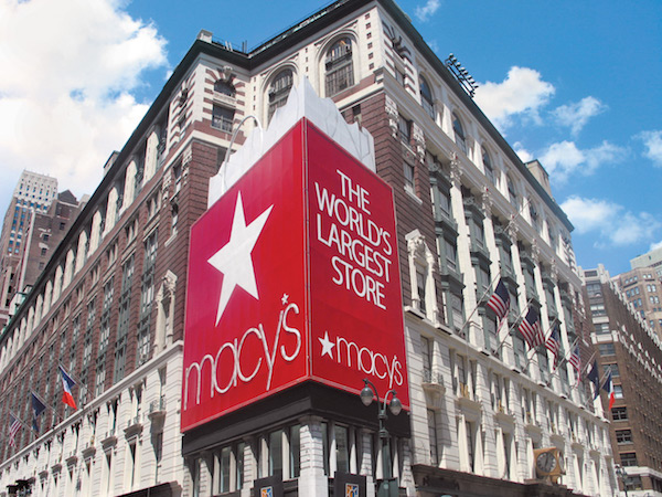 A court has banned Macy's from detaining shoppers in cells and fining them for shoplifting, because it was actually doing that