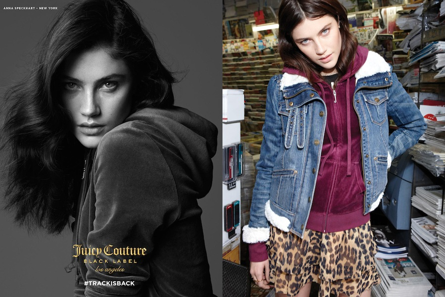 Juicy Couture is still kicking, has released a new campaign that's actually good