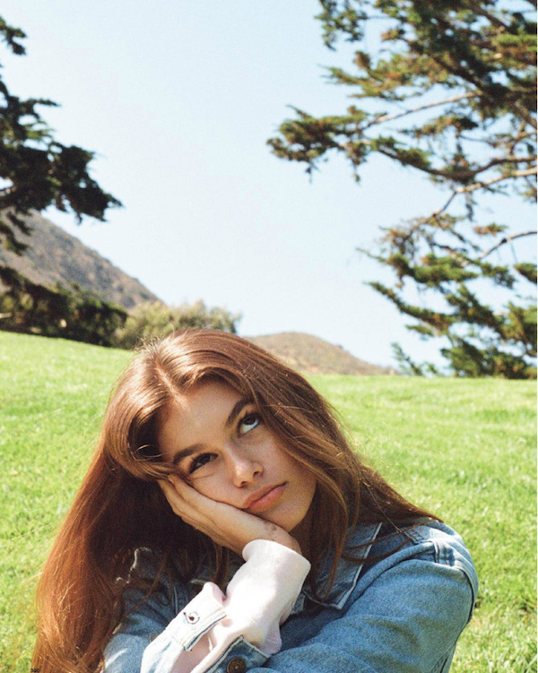Kendell Jenner shot Kaia Gerber for Love magazine