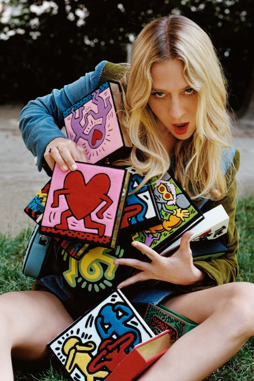 This collection brings together a dream team of Olympia Le-Tan x Keith Haring x Chloë Sevigny