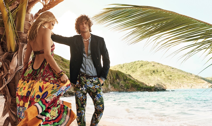 Tommy Hilfiger's SS16 campaign is a tropical island vacay