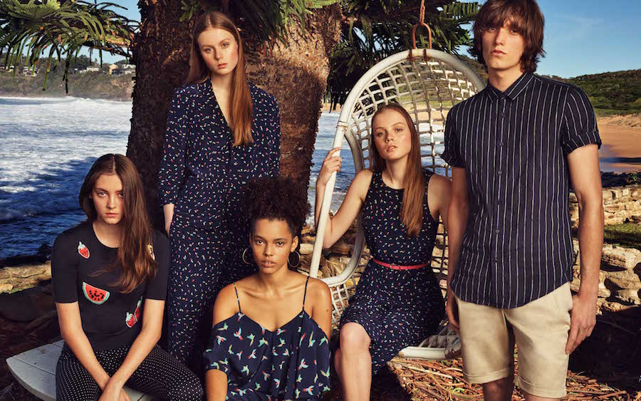 Australian summer shines in Marcs SS16 campaign