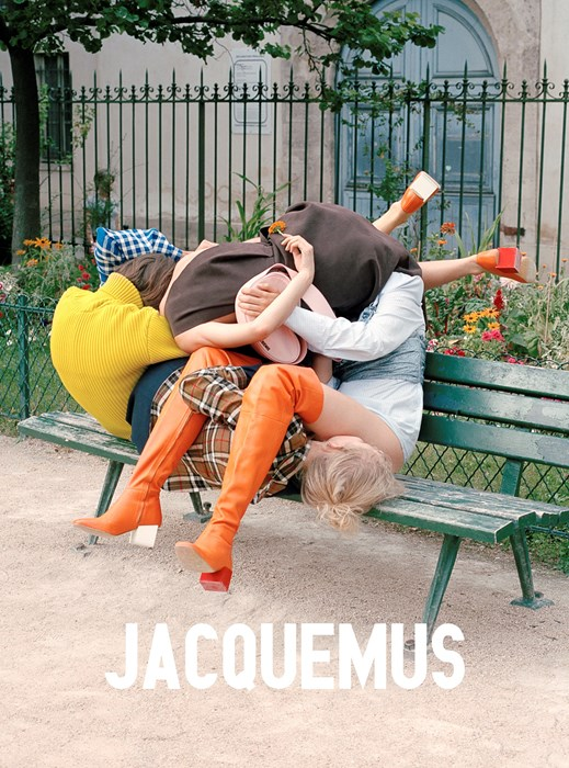 The new Jacquemus campaign is literally just a bunch of models piled on top of each other