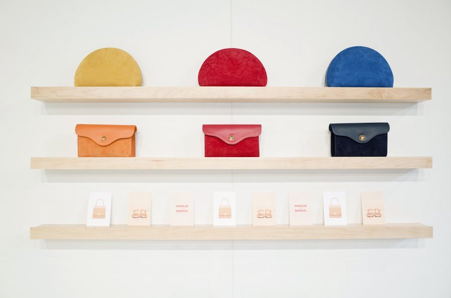 Mansur Gavriel has expanded its handbag and footwear lines, so you can freak out now