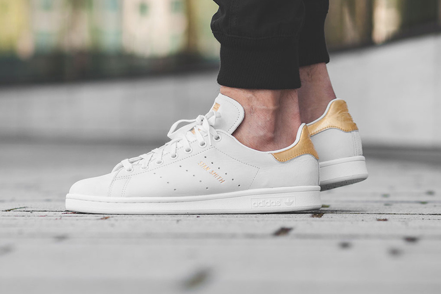 There's now a Matte Gold Stan Smith so you can tastefully bling up