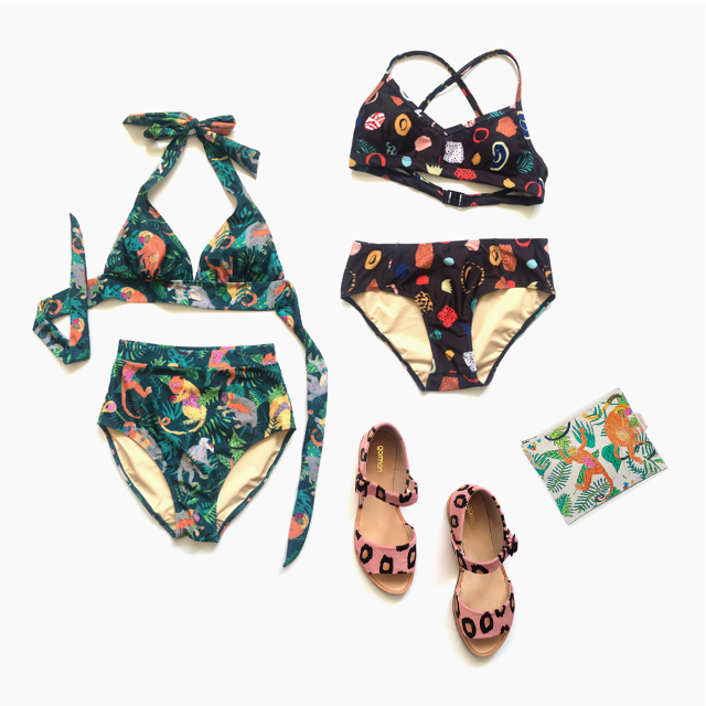 Gorman dropped a new swimwear line and our hearts can't take it
