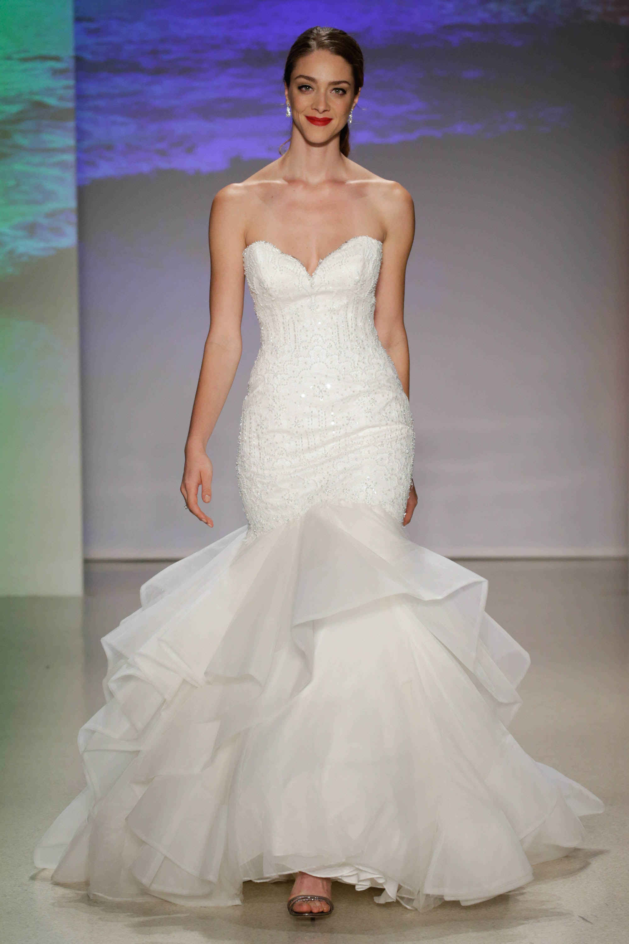 Someone designed actual, real-life wedding dresses for the Disney ...