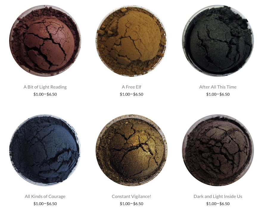 Hold up, actual Harry Potter makeup does exist