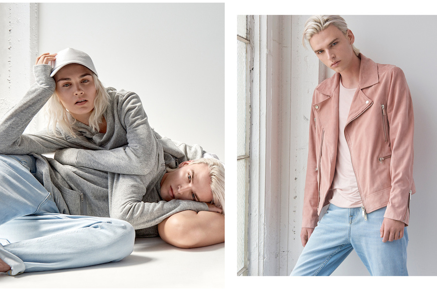 Guess has dropped a unisex capsule collection