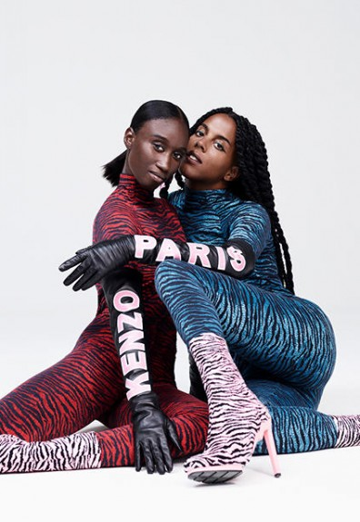 We now have a huge 41 pics of the Kenzo x H&M collab