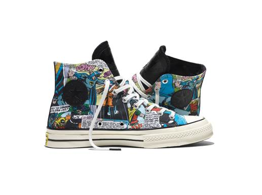 Converse has dropped a line of Batman All Stars with DC Comics