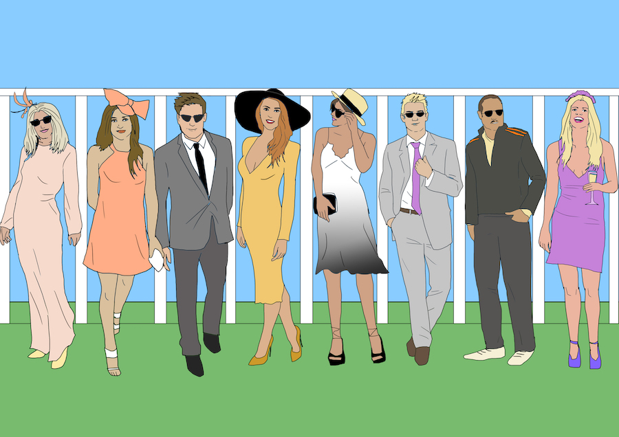 The 8 worst people you'll see at the races