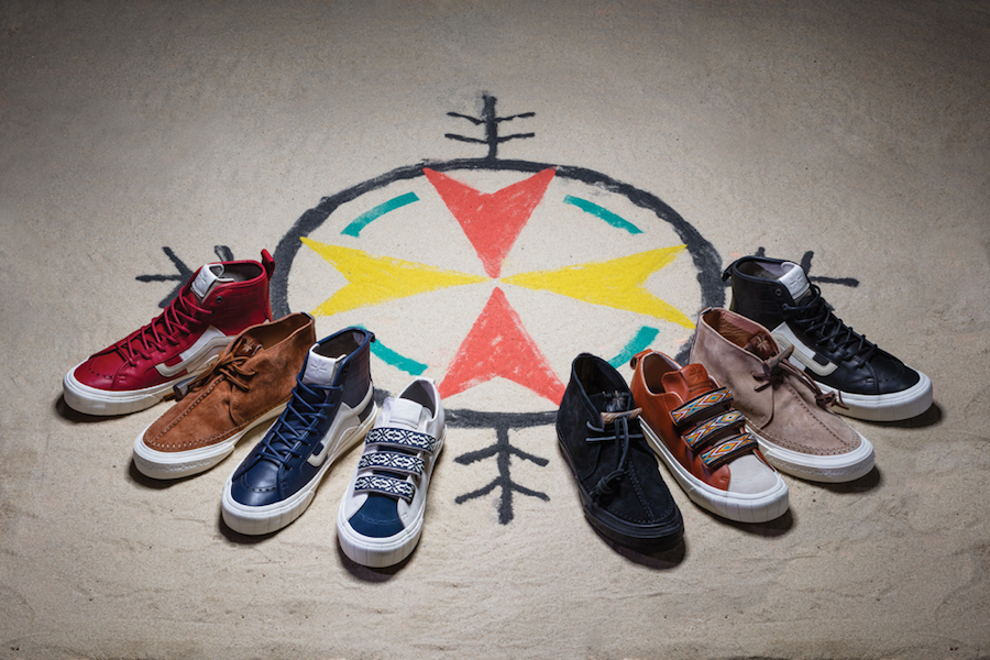 Vans has teamed up with Taka Hayashi for the 15th time
