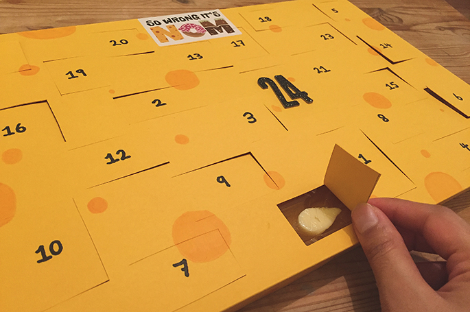 Praise the lord, cheese advent calendars are coming