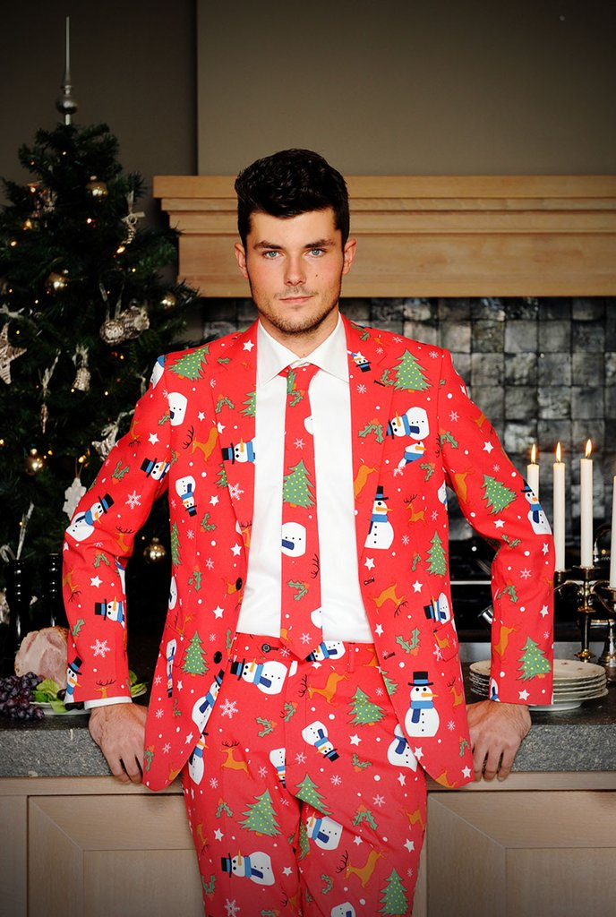 Ugly Christmas suits are officially a thing and may god have mercy on us all