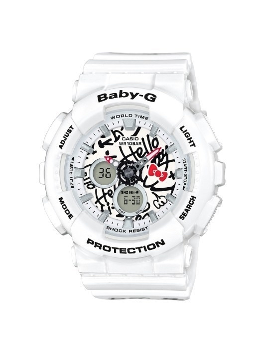 A Hello Kitty x Baby-G watch has just been announced