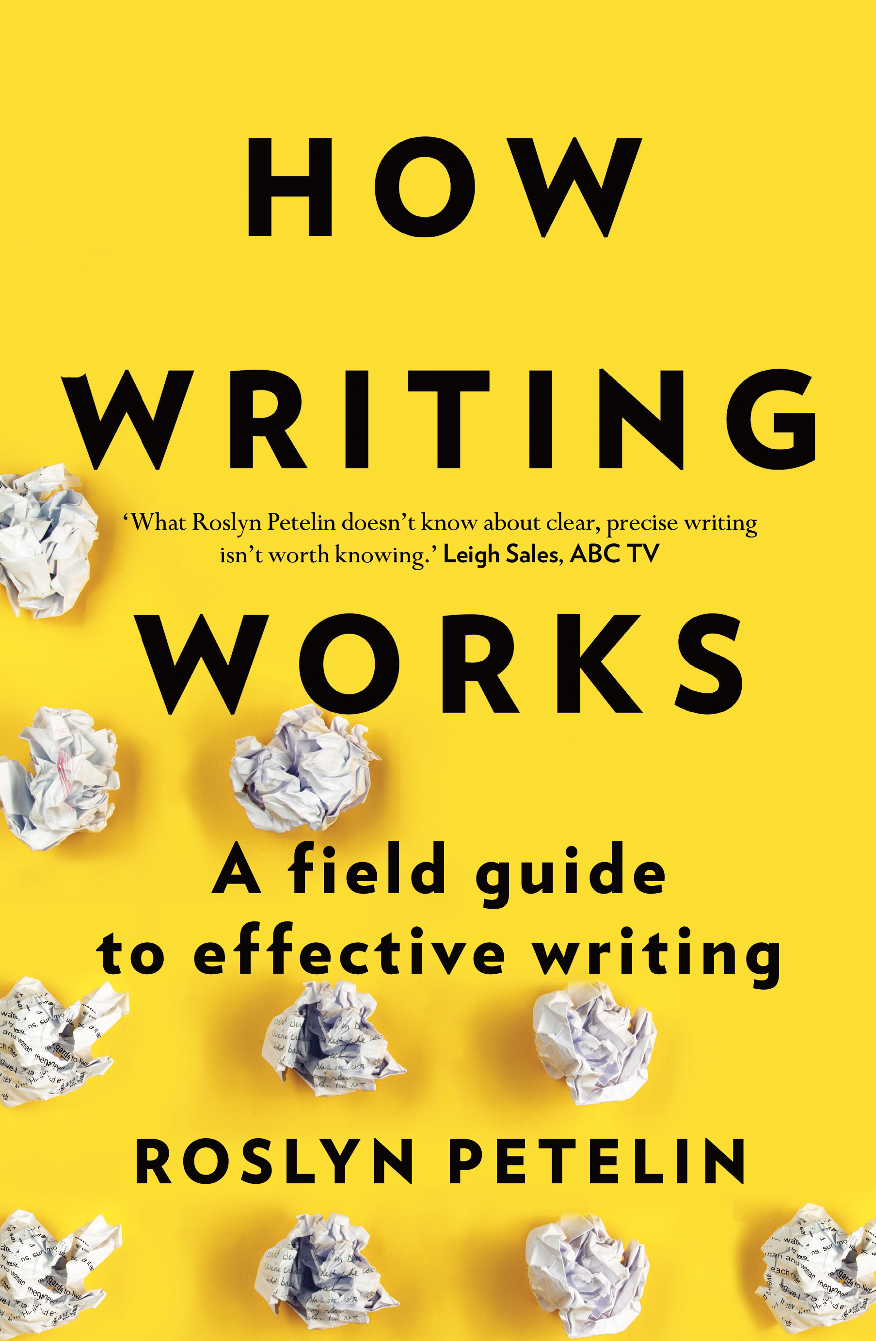Book review: How Writing Works