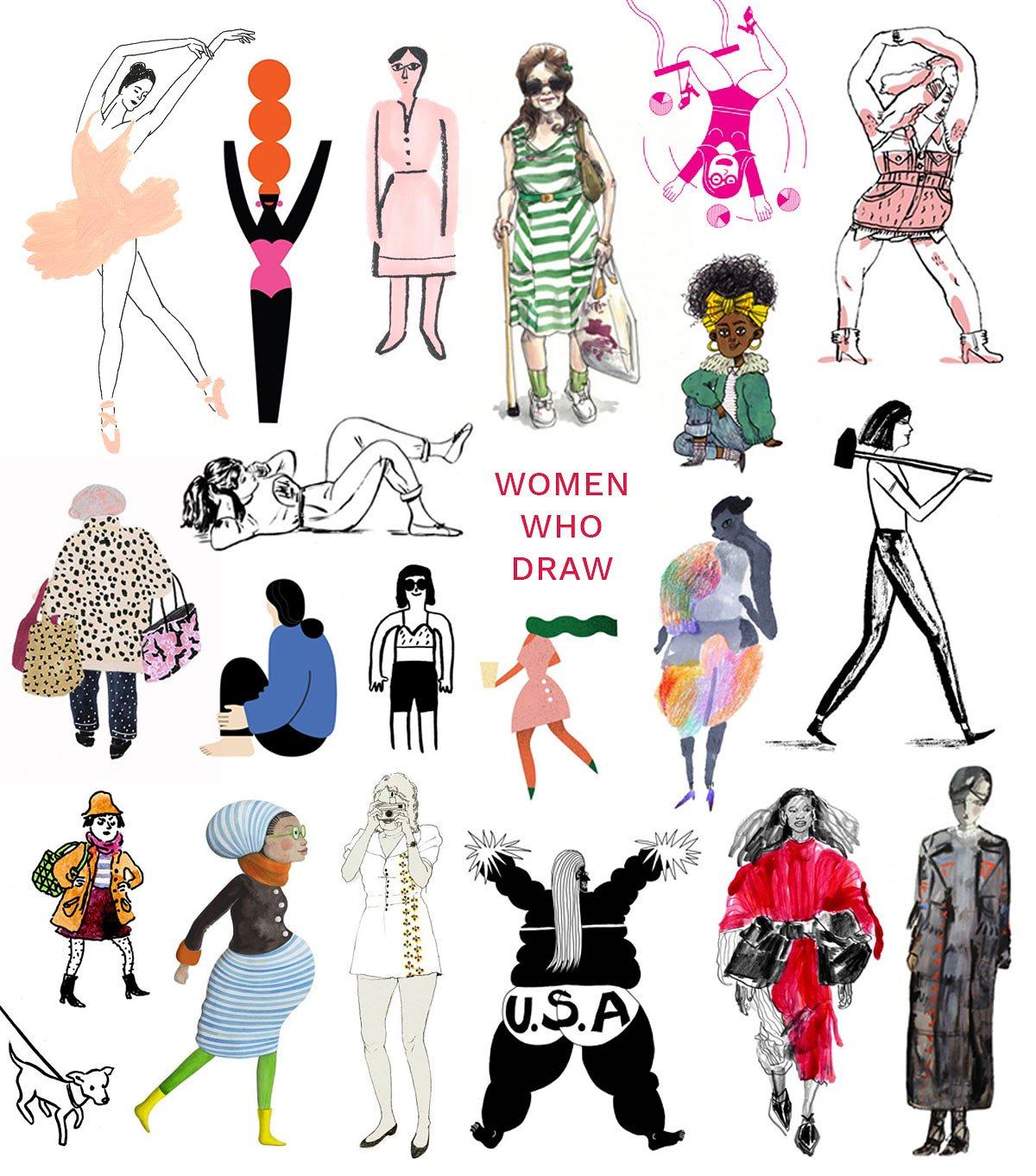 A directory of female illustrators now exists because girl power