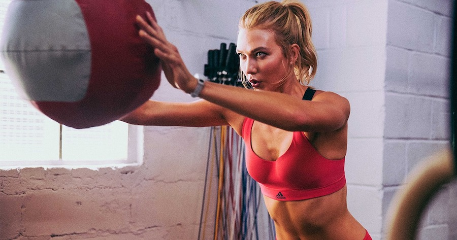 adidas is running a workout sesh with Karlie Kloss