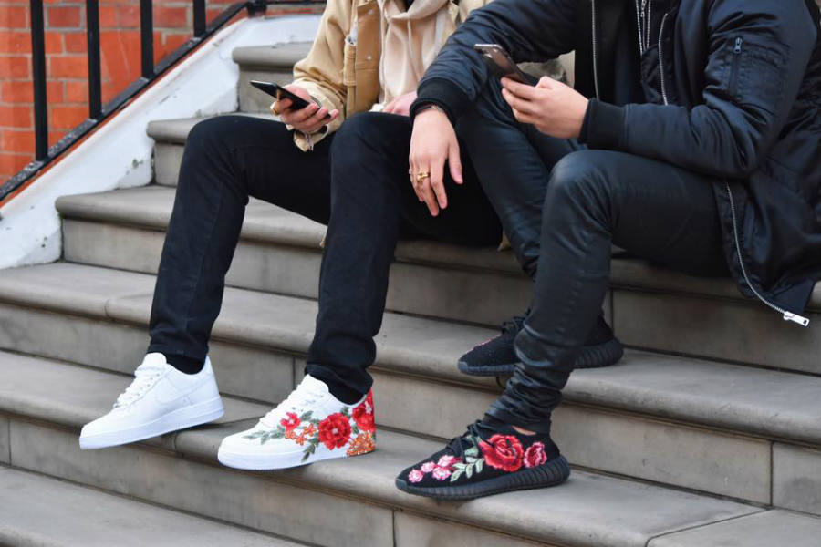 The Stan Smith has had a floral makeover