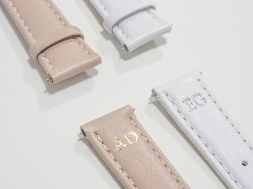Forget pouches, you can now get your initials stamped onto watches