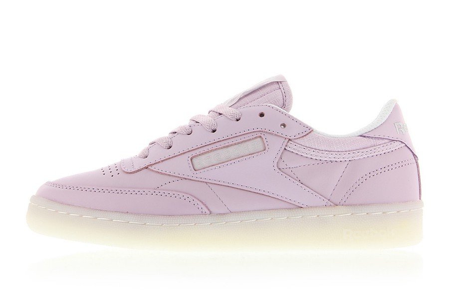 Reebok has blessed us with a lilac Club C 85