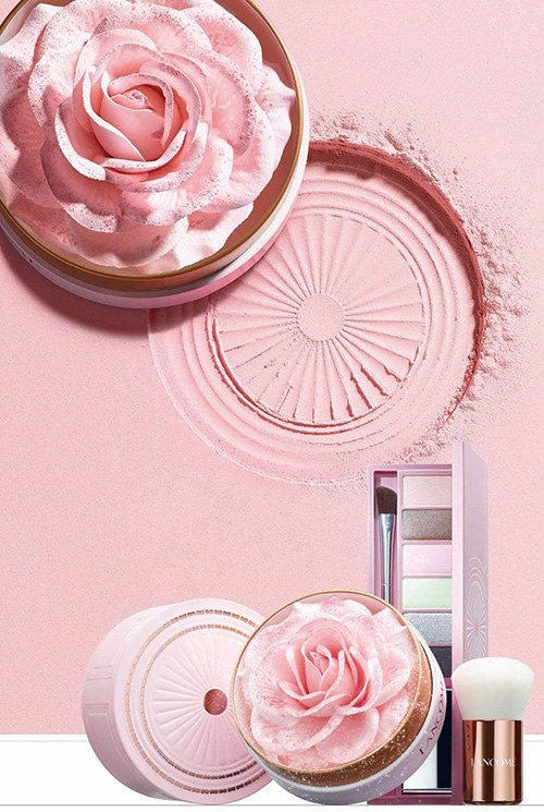 Lancôme has created a 3D highlighter in the shape of an actual rose