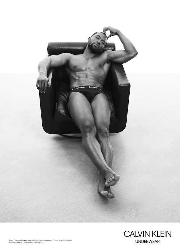 Calvin Klein's latest campaign features the stars of 'Moonlight'