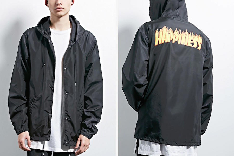Forever 21 accused of stealing Thrasher's logo