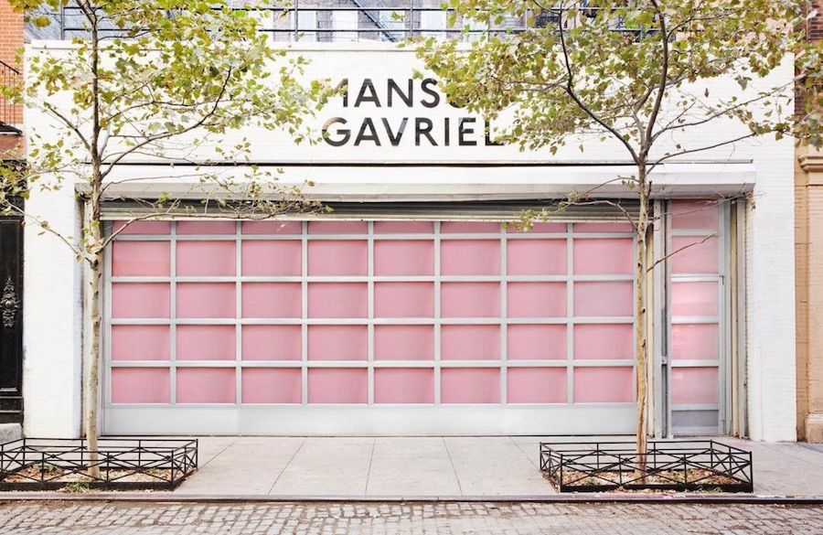 Book your tickets to NYC, Mansur Gavriel is opening a lolly shop