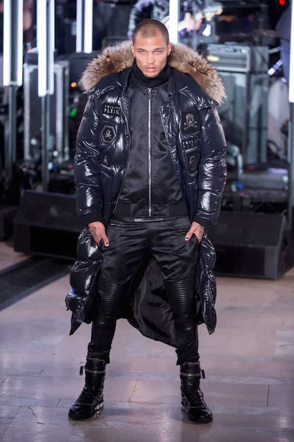 The hot felon just made his runway debut
