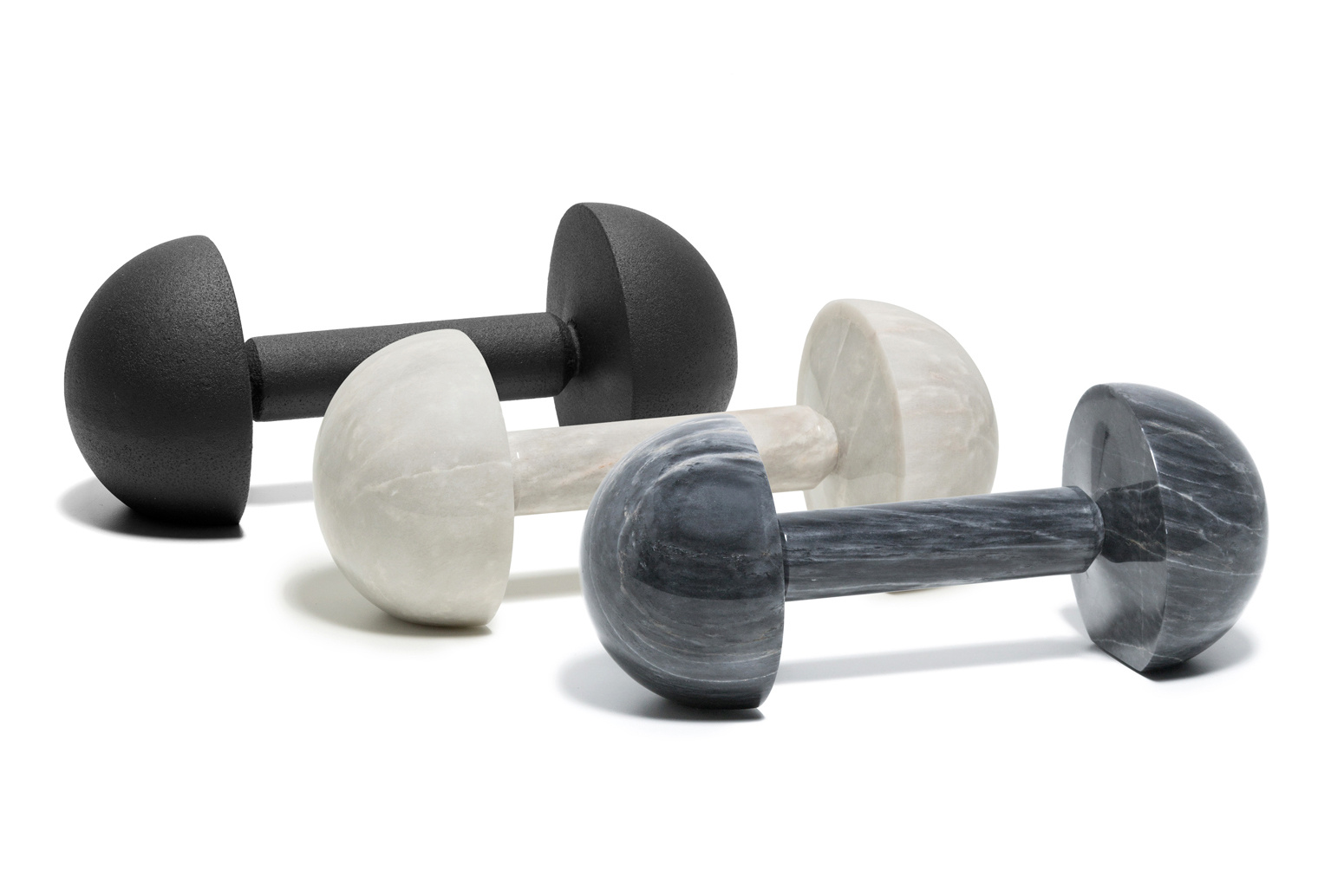 These gallery-worthy weights are for the person in your life who has everything