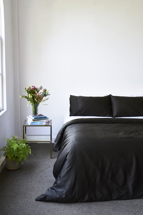 Ettitude now does all-black bedding