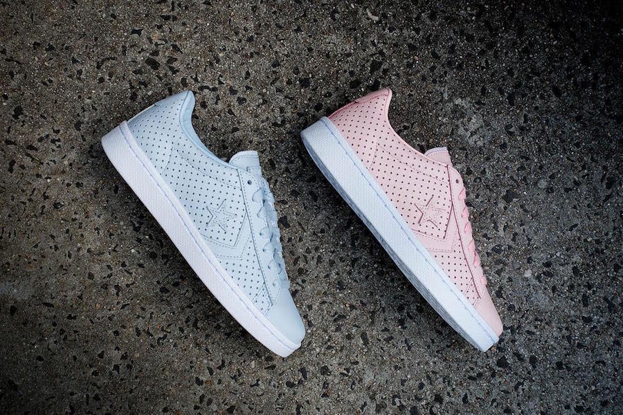 Converse just released pastel Pro Leather 76 sneakers because it's springtime somewhere