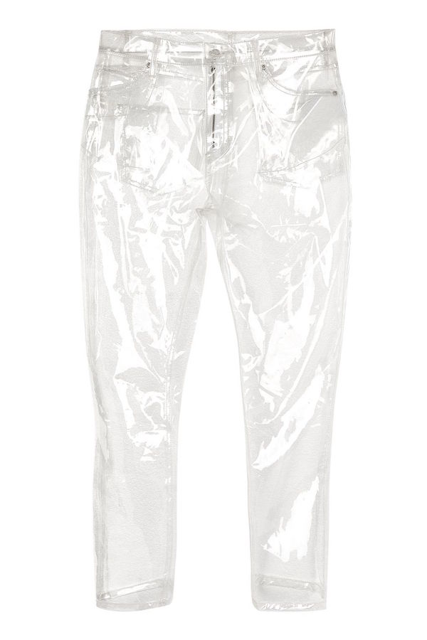 Topshop is now selling clear, plastic jeans because of course