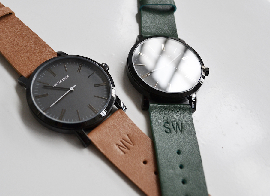Uncle Jack's now monogramming your watches