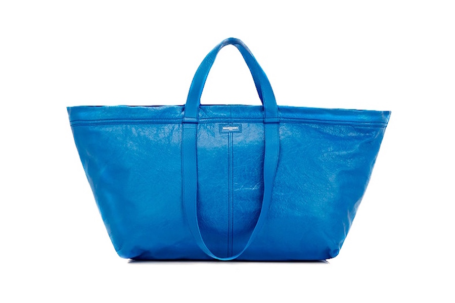 Balenciaga releases new tote that looks suspiciously like an Ikea bag