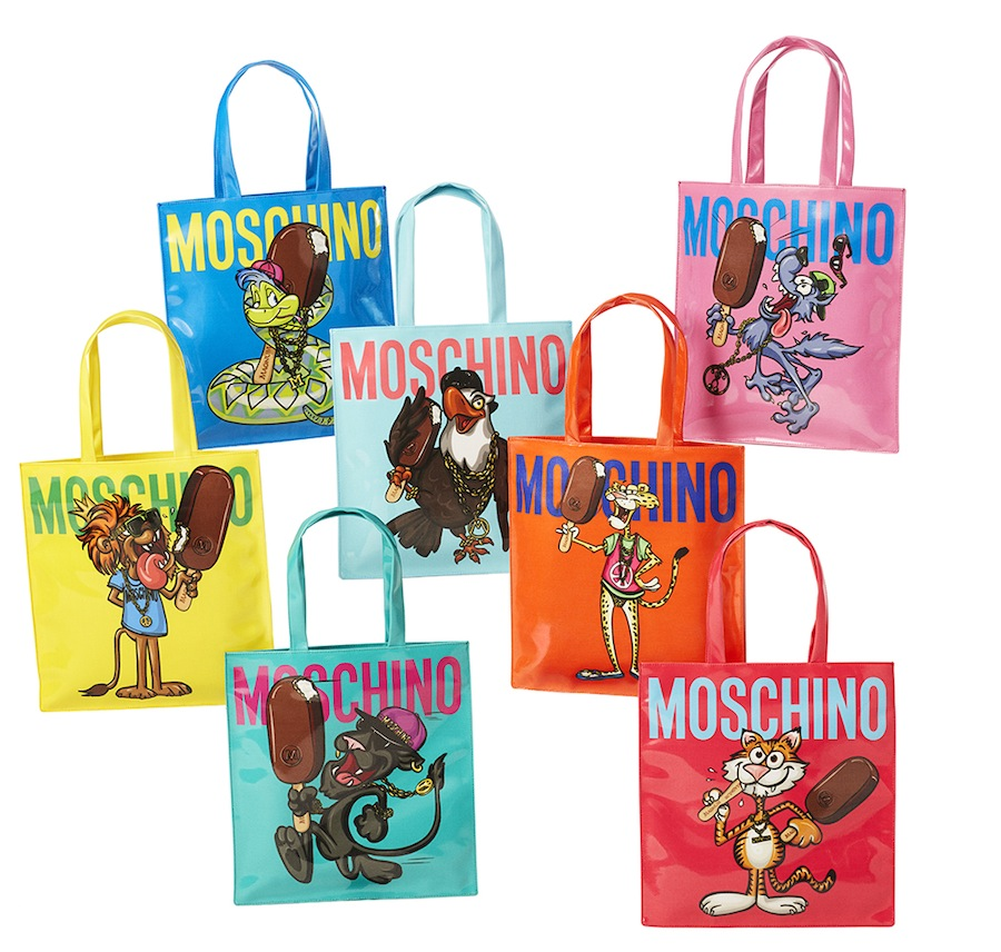 Moschino has unveiled a collaboration with Magnum