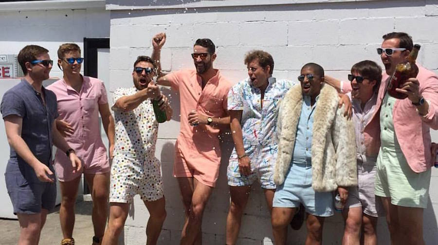 Men's rompers have arrived and we are here for it