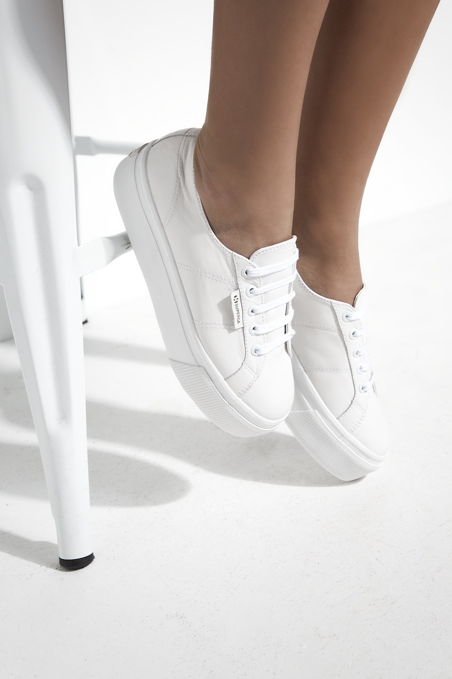 Tuchuzy and Superga have collaborated to create the white sneaker of your dreams