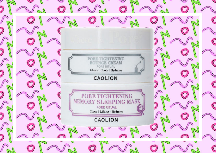 Beauty report: Caolion Pore Tightening Day & Night Glowing Duo