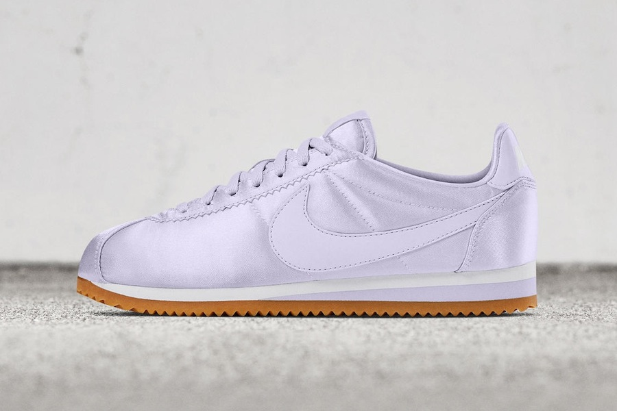 The Nike Classic Cortez exists in satin