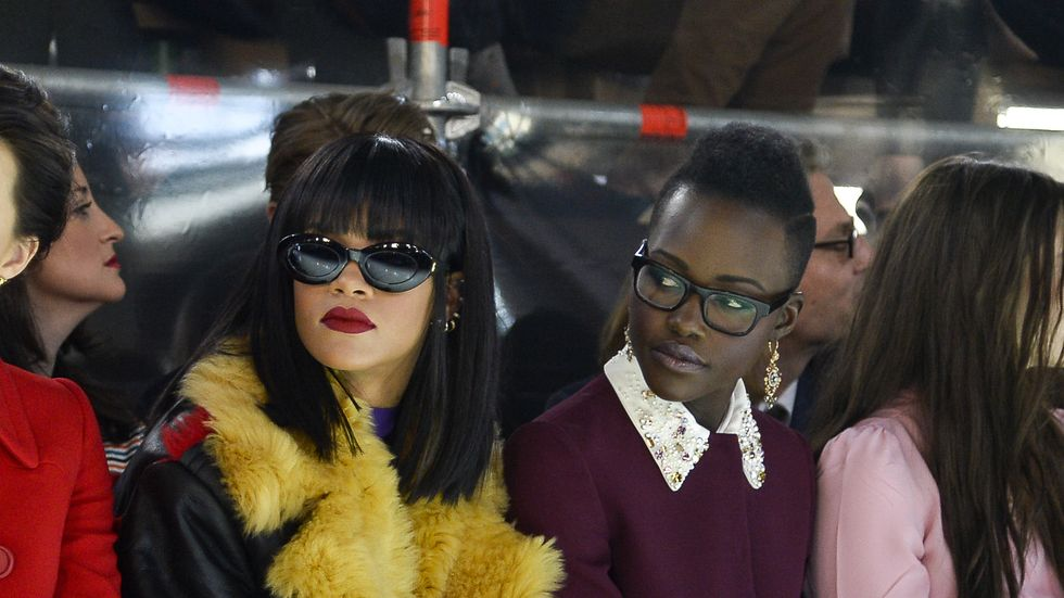 Rihanna and Lupita Nyong'o may star in a new thriller together