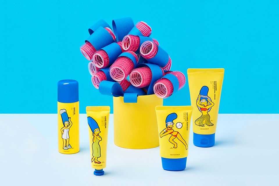 The Simpsons is releasing a skincare line
