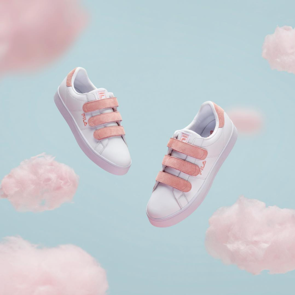 Fila's new Court Deluxe sneakers are deliciously dreamy