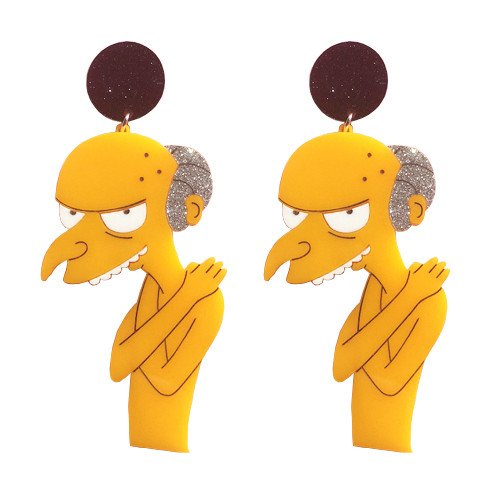 These Mr Burns earrings are the best thing you'll see all week