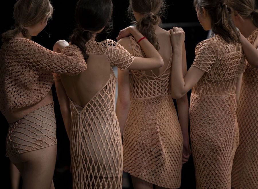 The future is here, you can now purchase 3D-printed clothes