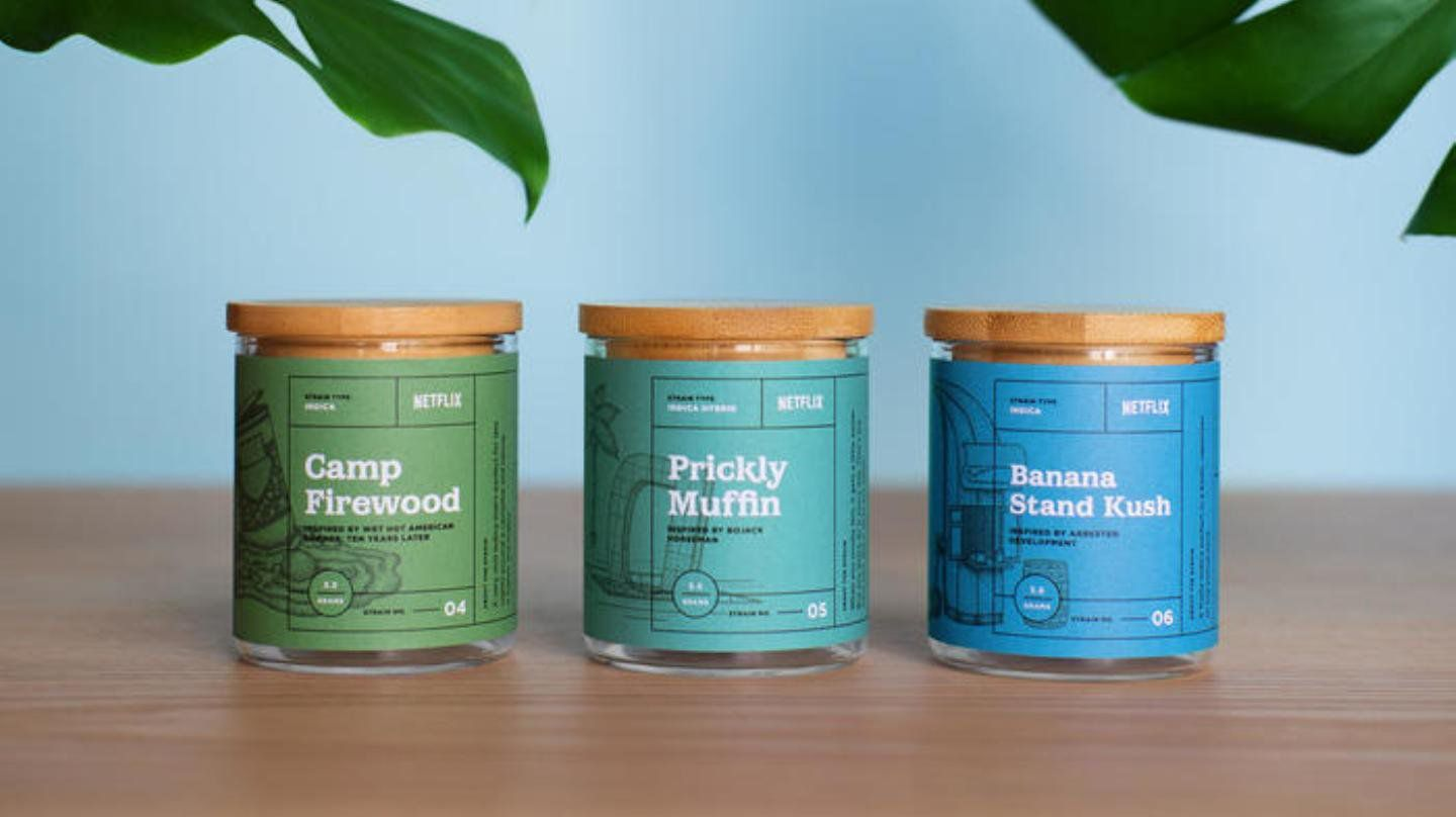 Netflix has released its own line of weed