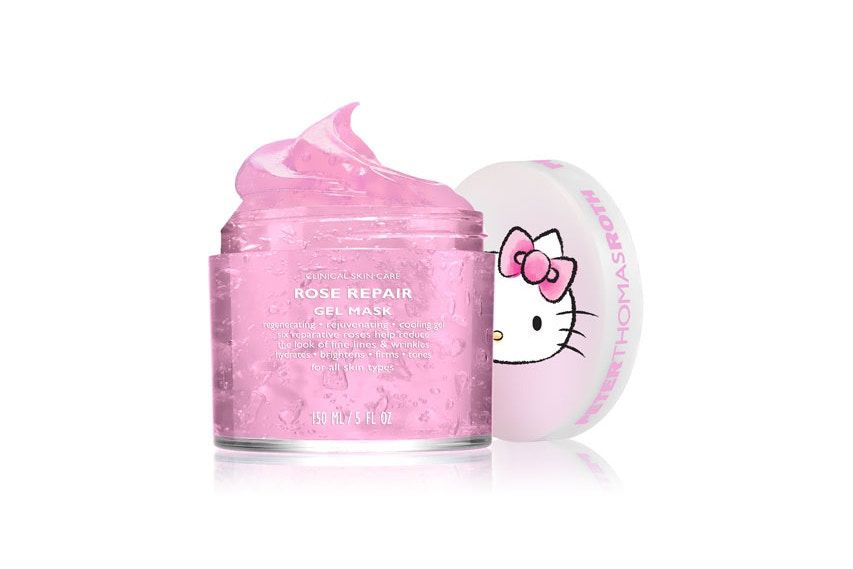 There's now a line of luxe Hello Kitty skincare